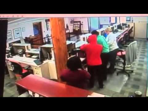 St George's Bank Robbery CCTV Footage, June 8 2015