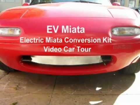Tesla Fun For THINK Prices? The EV Mazda Miata Conversion