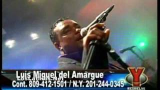 Luis Miguel del Amargue - Abrazame tema nuevo Live (08/08/09)