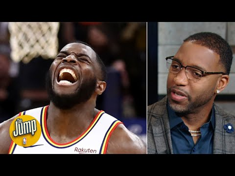 Tracy McGrady knew Eric Paschall had something special even before his 34-point game | The Jump