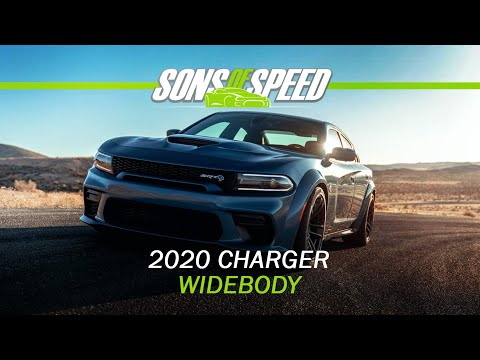 2020 Dodge Charger Widebody Preview | Sons of Speed
