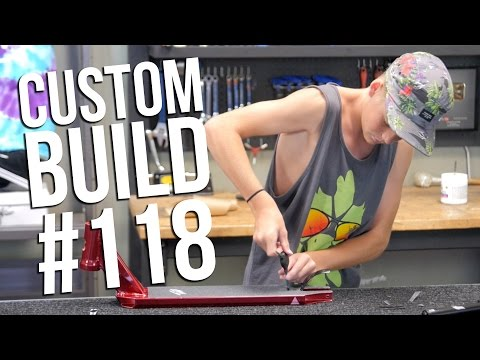 Custom Build 118 (ft. Derek Marr) │ The Vault Pro Scooters