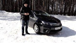 видео Toyota Corolla e170: технические характеристики, интерьер, экстерьер