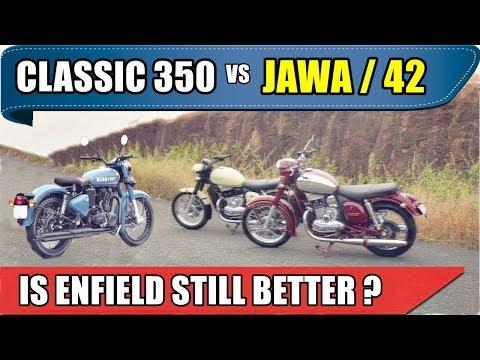 Jawa / Jawa 42 Vs Royal Enfield Classic 350 | Which To Buy | Jawa 42 Vs Classic 350 Signal | ASY