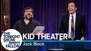 Jack Black and Jimmy Perform Kid Theater