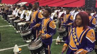 honda battle of the bands 2017 mass band practice percussion view