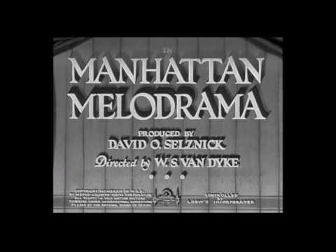 Manhattan Melodrama (Opening Credits)  1934   Clark Gable