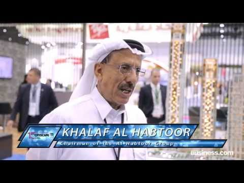 Khalaf Al Habtoor speaks to Arabian Business at Cityscape Global 2016