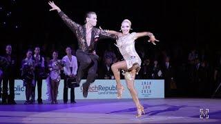 Armen Tsaturyan - Svetlana Gudyno, RUS | 2018 WDSF World Latin, Ostrava - Honor dance Jive
