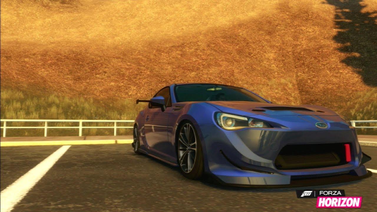Brz Sti Specs >> Forza Horizon - Subaru BRZ (STI Swap) BodyKits & Conversion - YouTube