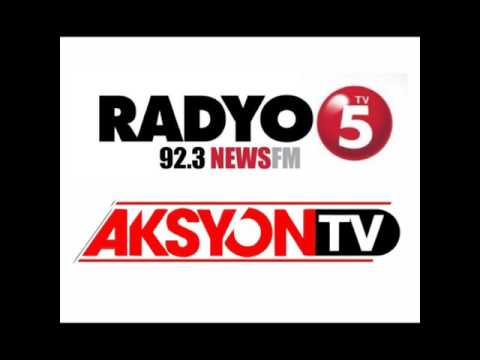 AksyonTV, Radyo5 92.3 News FM and Radyo5 stations