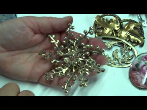 Learning About Vintage Jewelry: Design Muse, Income Stream Vs.Repurposing Elements