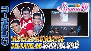 REACCIÓN AL TRAILER COMPLETO DE SAINTIA SHÔ + Momentos divertidos del panel