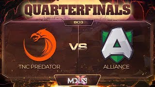 TNC Predator vs Alliance Game 3 - MDL Chengdu Major: Quarterfinals