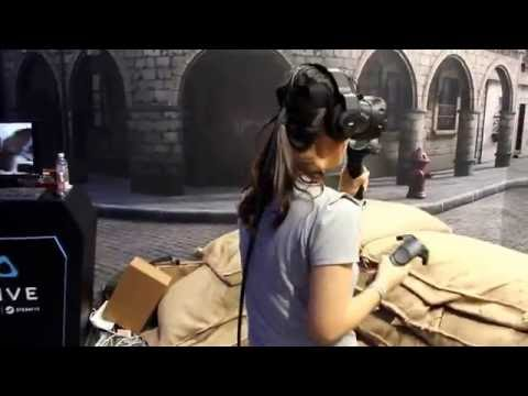 HTC VIVE《Front Defence》by Fantahorn Studio (HTC) @Computex 2016 | 4Gamers