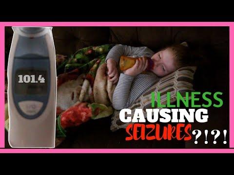 Fevers & Seizures | Vlogmas Day 9