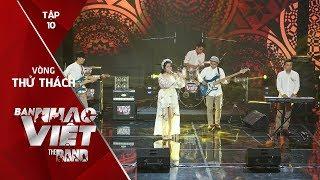 Trống Cơm - Tritone // Tập 10 Vòng Thử Thách | The Band - Ban Nhạc Việt 2017