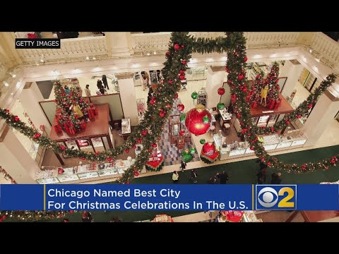 Chicago Named Best Place For Christmas Celebrations