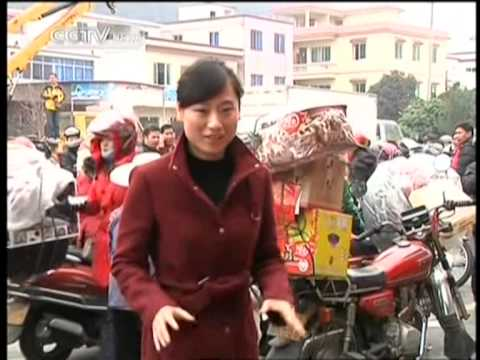 Guangdong smooths journey home on bikers