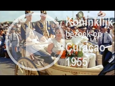Koninklijke reis naar de Nederlandse Antillen (1955)