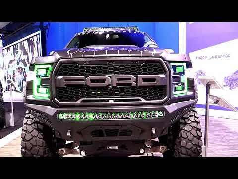 2019 Ford F150 Raptor Edition Design Special First Impression Lookaround Marketed 2017