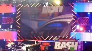 wwe great american bash John Cena vs JBL parking lot brawl