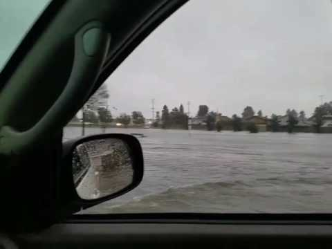 Huntington Beach Flooded 1