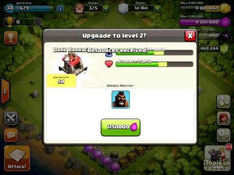 Clash of Clans How many Gems needed to speed up King & Queen to max level?
