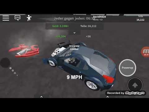 Roblox Car Crushers 2 erfahren und zerstören Autos