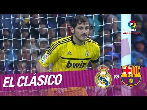 El Clásico - Resumen de Real Madrid vs FC Barcelona (1-3) 2011/2012
