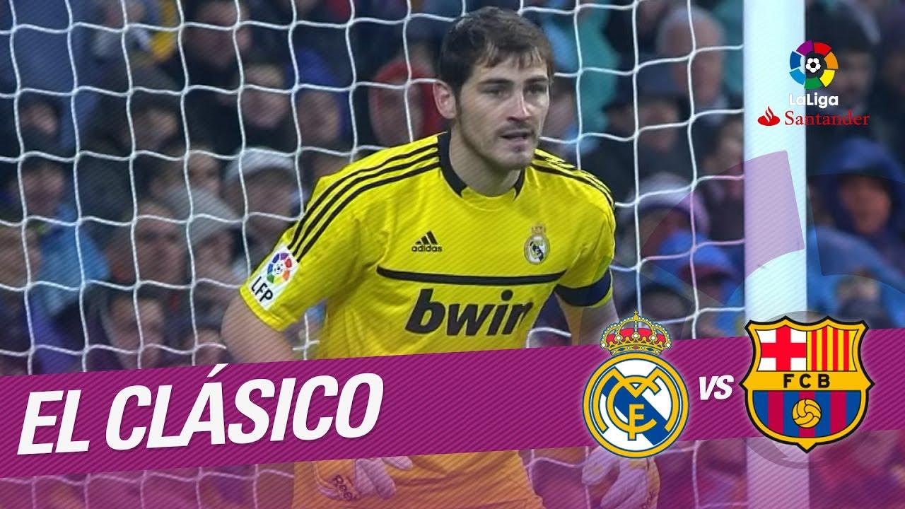 El Clasico Resumen De Real Madrid Vs Fc Barcelona 1 3 2011 2012 Youtube