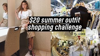 $20 Summer Outfit Shopping Challenge at Korea Yeongdeungpo Underground Mall | DTV #34