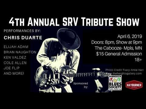Stevie Ray Vaughan Tribute Show 4-6-2019