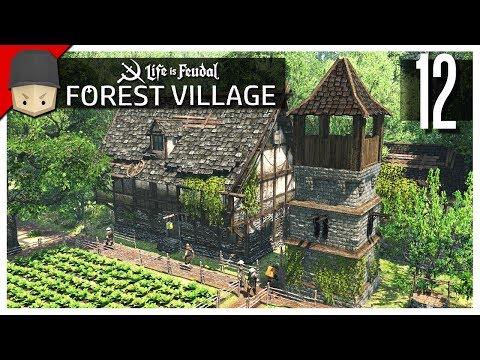 Life is Feudal Forest Village - Ep.12 : Defense Towers!