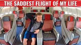 GARUDA INDONESIA - THE SADDEST FLIGHT OF MY LIFE