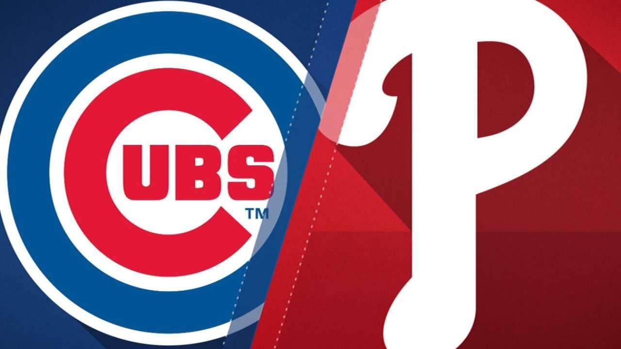 Walk it off, Asdrubel: Phillies 2, Cubs 1