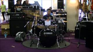 Avenged Sevenfold - Lost ~ DrumCover [YAMAHA KID DRUMMER MALAYSIA]