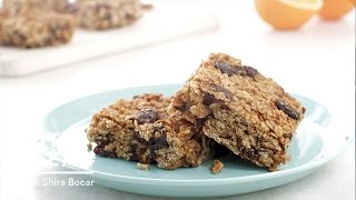 Gluten-free Cherry-date Oat Bars - Eat Clean With Shira Bocar