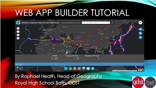 Web app builder tutorial for ArcGIS online