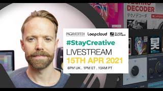Stay Creative Livestream with Rob Jones