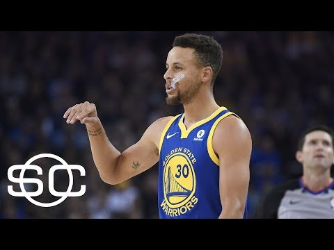 Warriors slow offensive start leads to bounce back against Spurs | SportsCenter | ESPN
