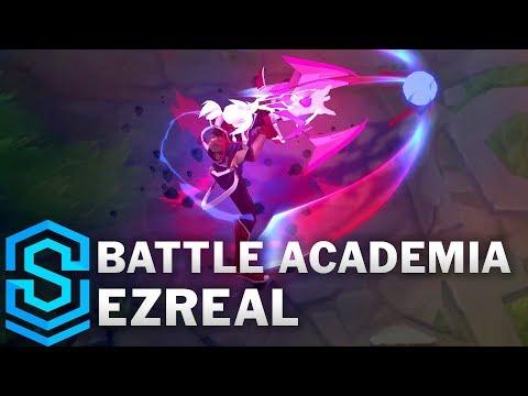 Battle Academia Ezreal Skin Spotlight - Pre-Release - League of Legends