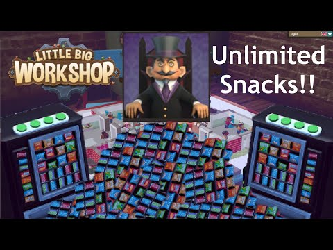 Little Big Workshop: Infinite Snacks. |