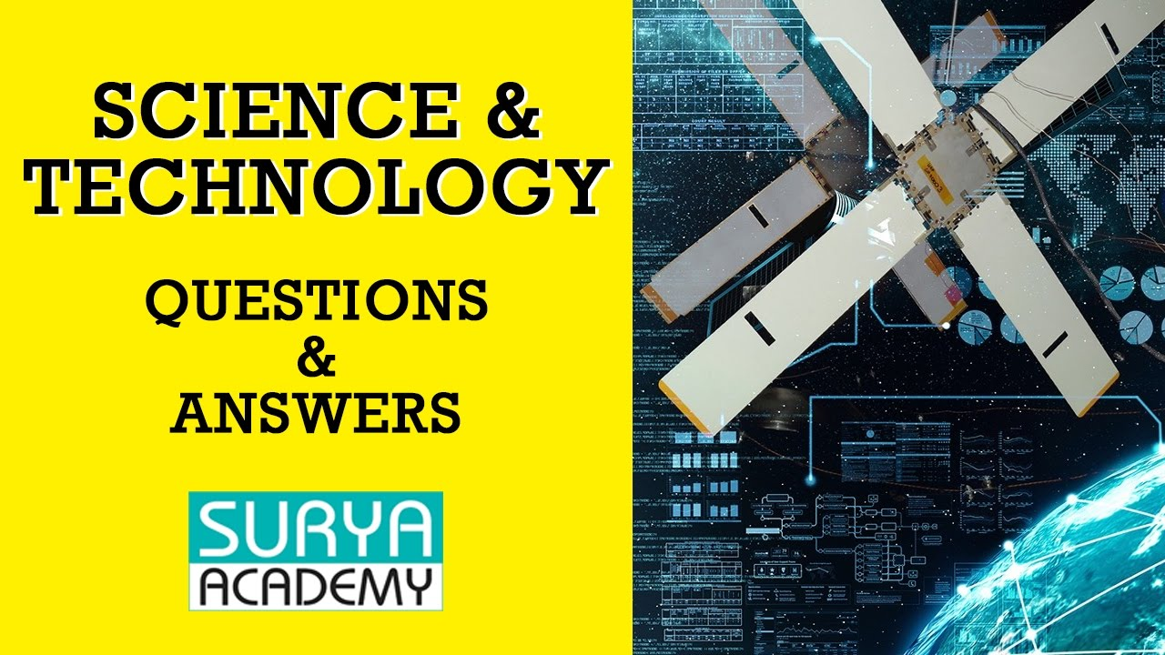 science and technology questions and answers pdf