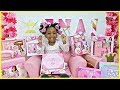 Reign's Disney Princess Haul Style Collection, Play Camera, Laptop, Beauty Hair Sets