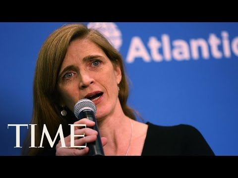 U.S. Ambassador To U.N. Samantha Power Gives Scathing Speech on Russia | TIME
