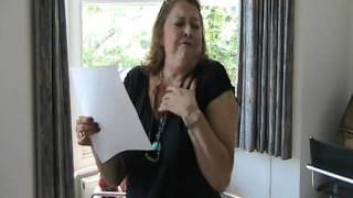 Lynda Baron - First rehearsal - A HARD MAN IS GOOD TO FIND!