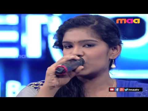 Mayya Mayya song from guru movie by sameera and shilpa in super singer 8