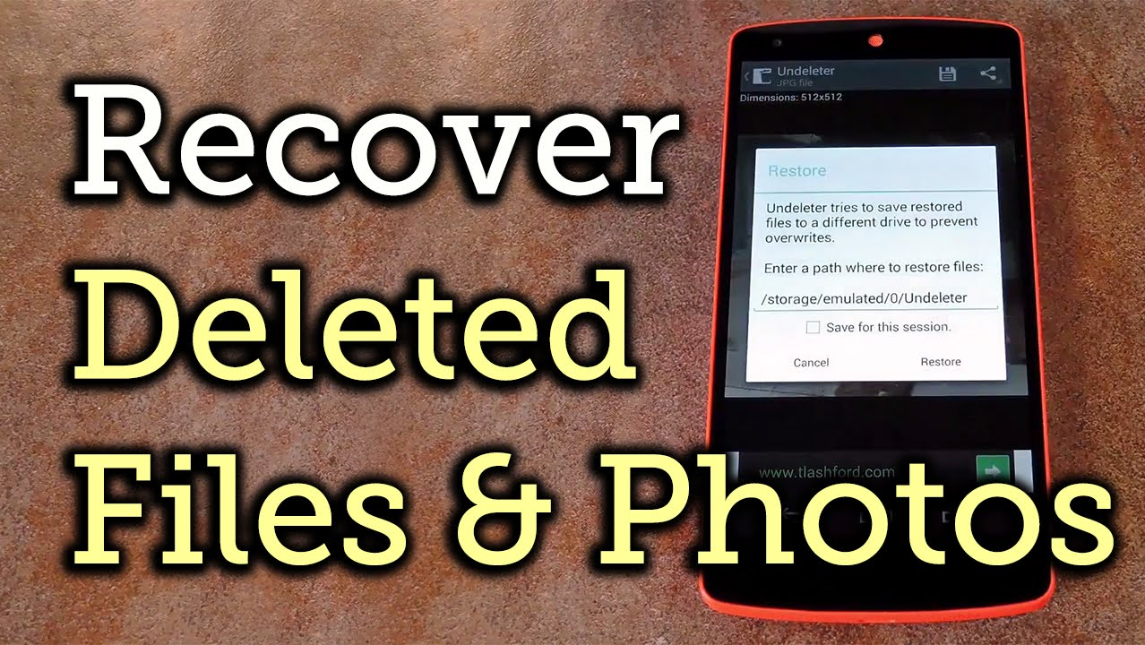 Recover Deleted Photos & Other Files in Android [How-To]