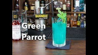 Green Parrot - Wodka & Rum Cocktail selber mixen - Schüttelschule by Banneke
